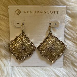 Kendra Scott Kirsten Drop Earrings in Gold Filigre